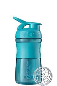 Спортивная бутылка-шейкер BlenderBottle SportMixer 590ml Teal SKL24-144876