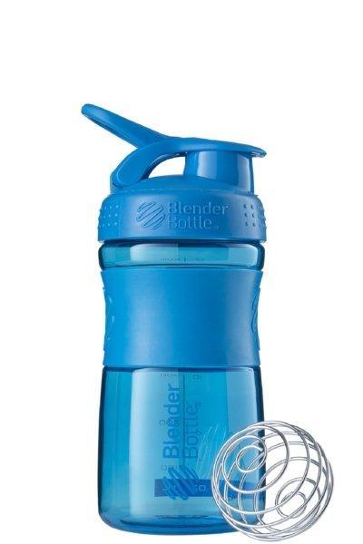 Спортивна пляшка-шейкер BlenderBottle SportMixer 590ml Cyan SKL24-144877