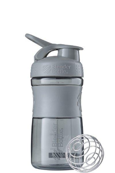 Спортивная бутылка-шейкер BlenderBottle SportMixer 590ml Grey SKL24-144881