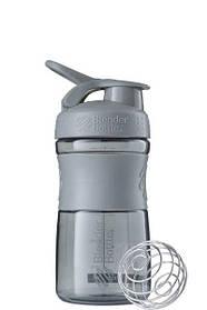Спортивна пляшка-шейкер BlenderBottle SportMixer 590ml Grey SKL24-144881
