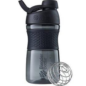 Пляшка-шейкер спортивна BlenderBottle SportMixer Twist 590ml Black SKL24-144929
