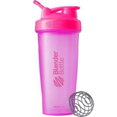 Шейкер спортивный BlenderBottle Classic Loop 820ml Special Edition Pink SKL24-144970