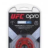 Капа Opro Junior Silver Ufc Hologram Black-Red SKL24-145157, фото 7