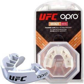 Капа Opro Bronze Ufc Hologram White SKL24-145162