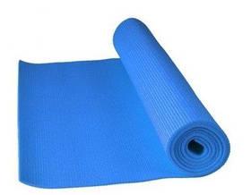 Коврик для йоги и фитнеса PS-4014 Fitness Yoga Mat Blue SKL24-145264