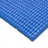 Килимок для йоги та фітнесу PS-4014 Fitness Yoga Mat Blue SKL24-145264, фото 3