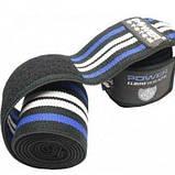 Локтевые бинты Power System Elbow Wraps PS-3600 Blue-Black SKL24-145361, фото 2