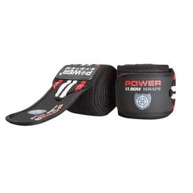 Ліктьові бинти Elbow Wraps PS-3600 Red-Black SKL24-145362