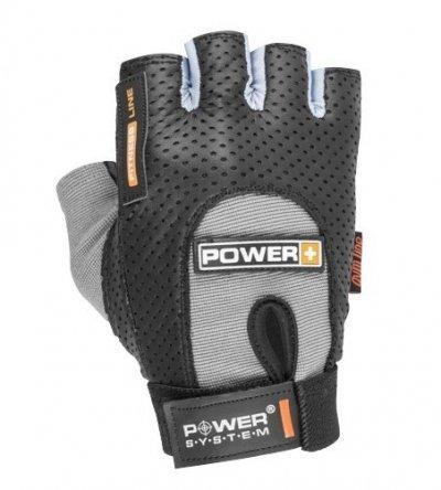 Рукавички для фітнесу і важкої атлетики Power System Power Plus PS-2500 Black-Grey S SKL24-145479