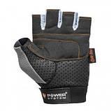 Перчатки для фитнеса и тяжелой атлетики Power System Power Plus PS-2500 Black-Grey S SKL24-145479, фото 2