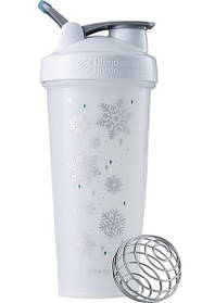 Шейкер спортивный BlenderBottle Classic Loop 820ml Special Edition Frost White SKL24-145714