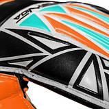 Вратарские перчатки SportVida оранжевые Size 4 латекс SV-PA0005 SKL41-160780, фото 5