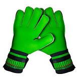 Вратарские перчатки SportVida зеленые Size 5 латекс SV-PA0002 SKL41-161712, фото 4