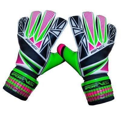 Воротарські рукавички SportVida зелені Size 4 SV-PA0001 SKL41-161740