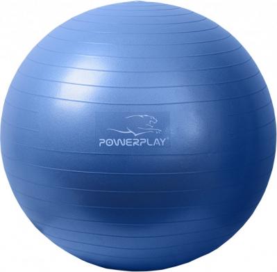 Мяч для фитнеса 4001 65см Синий, насос SKL24-189482