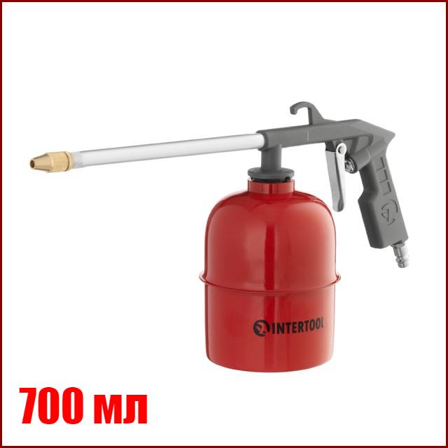Пневмопистолет мовильница для распыления жидкостей INTERTOOL PT-0704