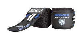 Бинты на колени Power System Knee Wraps Blue PS-3700 SKL24-190048