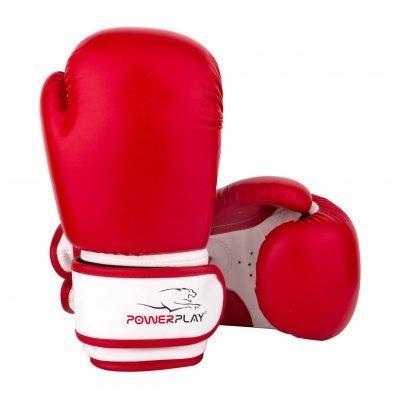 Перчатки для бокса PowerPlay красные 6 унций 3004 JR SKL24-190051