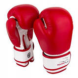 Перчатки для бокса PowerPlay красные 6 унций 3004 JR SKL24-190051, фото 4