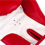 Перчатки для бокса PowerPlay красные 6 унций 3004 JR SKL24-190051, фото 5