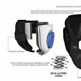Боксерский PowerPlay шлем тренировочный cиний M 3084 SKL24-190066, фото 9