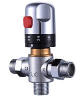 Термостатический смеситель на гигиенический душ для биде бойлера, фото 1