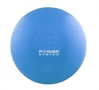 Мяч для фитнеса и гимнастики Power System Blue 55 cm PS-4011 SKL24-190153