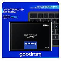 """Накопичувач SSD 2.5"""" 128GB GOODRAM (SSDPR-CX400-128-G2)"""