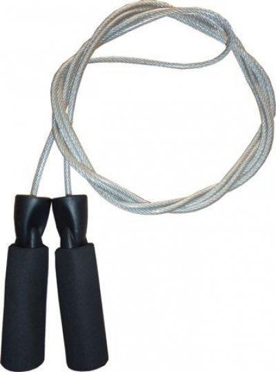 Скакалка Speed Rope Power System серая PS-4004 SKL24-190304