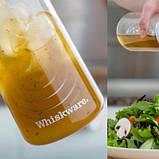 Універсальний блендер для соусів Blender Bottle Whiskware Dressing Білий Dressing SKL24-190324, фото 4