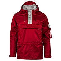 Оригінальна куртка анорак Alpha Industries Seafarer Anorak (Red / New Silver), фото 1
