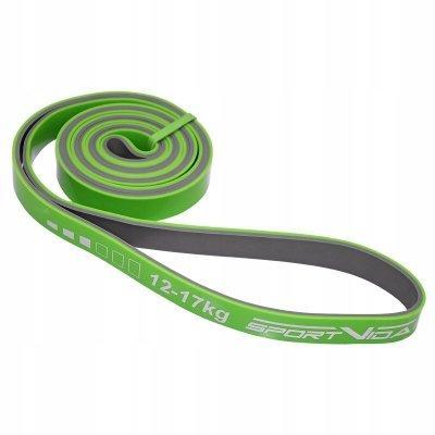 Еспандер-петля, гума для фітнесу та спорту SportVida Power Band 20 мм 12-17 кг SV-HK0209 SKL41-227453