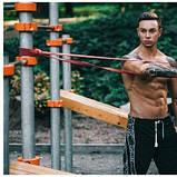 Еспандер-петля, гумка для фітнесу та спорту 4FIZJO Power Band 32 мм 17-26 кг 4FJ1073 SKL41-227483, фото 3
