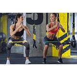 Резинка для фитнеса и спорта, лента-эспандер эластичная 4FIZJO Mini Power Band 5 шт 4FJ1110 SKL41-227511, фото 3