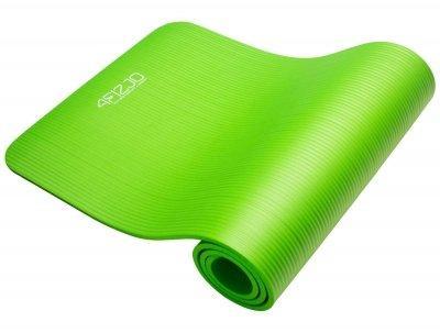 Коврик, мат для йоги и фитнеса 4FIZJO Nbr 1 см 4FJ0017 Green SKL41-227521