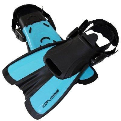 Ласты SportVida SV-DN0007JR-S Size 29-33 Black-Blue SKL41-227657