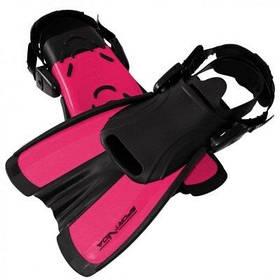 Ласты SportVida SV-DN0008JR-S Size 29-33 Black-Pink SKL41-227658