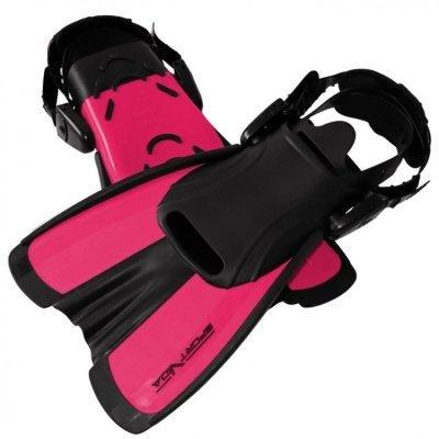 Ласты SportVida SV-DN0008JR-L Size 39-43 Black-Pink SKL41-227659