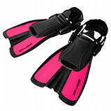 Ласты SportVida SV-DN0008JR-M Size 34-38 Black-Pink SKL41-227660, фото 6