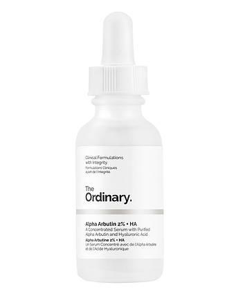 The Ordinary Alpha Arbutin 2% + HA Сироватка з Альфа арбутин і гіалуроновою кислотою (30 ml), фото 2