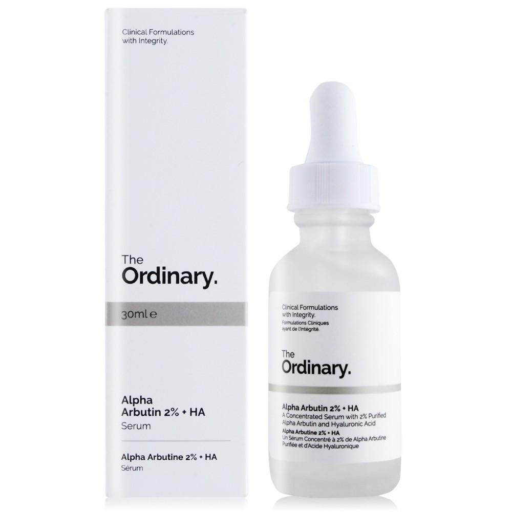 The Ordinary Alpha Arbutin 2% + HA Сироватка з Альфа арбутин і гіалуроновою кислотою (30 ml)