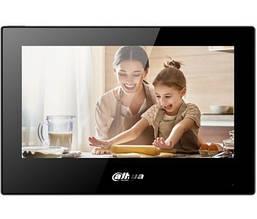 IP видеодомофон Dahua DHI-VTH5321GB-W Черный видео домофон Дахуа