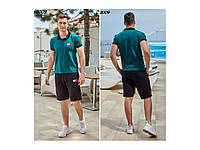 Спортивный летний костюм Tommy H.   (шорты + футболка)   5 цветов