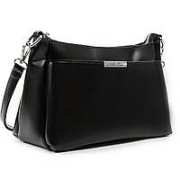Женская кожаная сумочка-клатч 8724  black. Купить женский кожаный клатч недорого в Украине