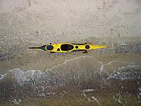 Каяк морской из стекловолокна морские каяки SeaBird Designs R Scott MV желтый