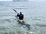 Каяк морской байдарка из стекловолокна морские каяки SeaBird Designs R Scott MV желтый, фото 2