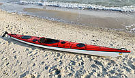 Каяк морской из стекловолокна морские каяки SeaBird XP 507 красный
