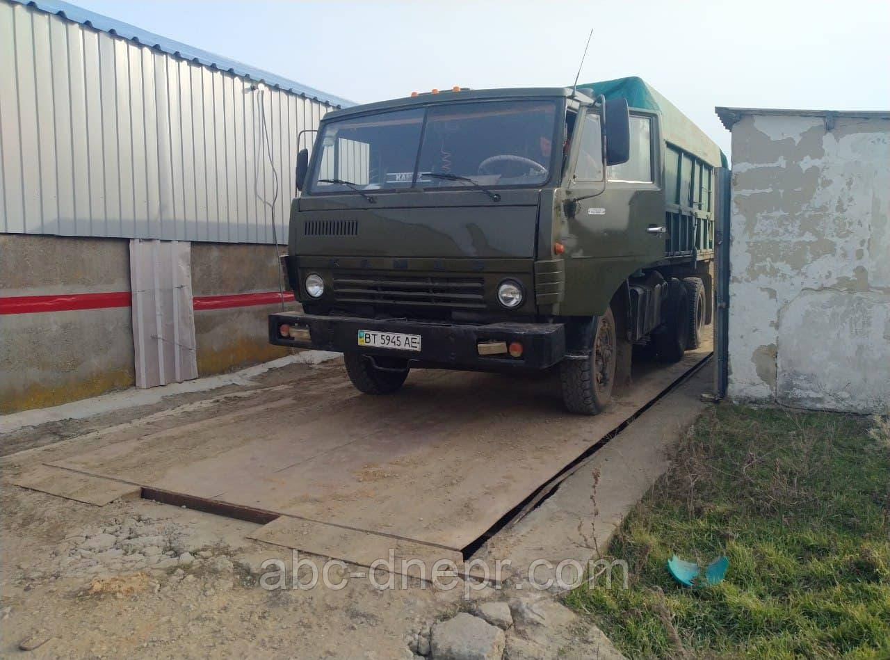 Ваги автомобільні РС-30Ц13 модернізація