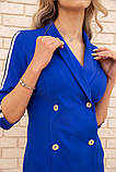 Платье 167R1665 цвет Синий, фото 5