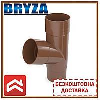 Безкоштовна доставка! Трійник труби BRYZA 125/90